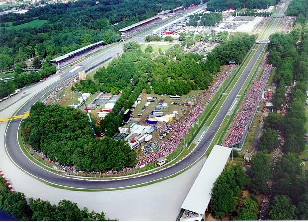 13º GP - Gran Premio de Italia, Monza Monza-circuito